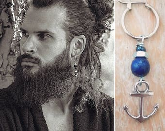 VINKING ANCHOR BLUE edition Dangle earring