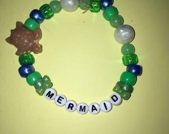 Mermaid Kandi Bracelet