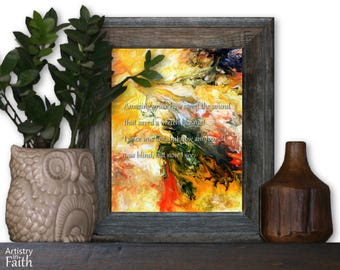 Amazing Grace, Religious Art, Spiritual Art, Christian Home Decor, Christian Wall Decor, Religious Decor, Religious Wall Art