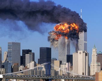 9 - 11 / September 11th 8 x 10 / 8x10 GLOSSY Photo Picture