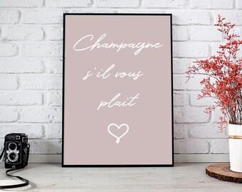 Champagne S'il vous plait
