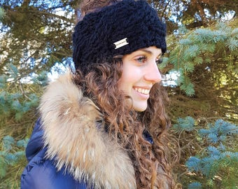 Headband, Ear Warmer, Cable headband, Braided Headband