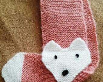 """Little fox"" baby/toddler scarf"