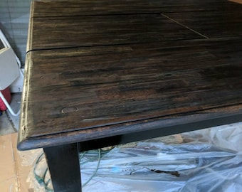 tall distressed kitchen table