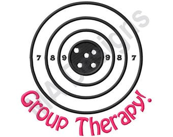 Group Therapy - Machine Embroidery Design