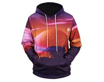 Galaxy Hoodie, Galaxy Sweatshirt, Galaxy, Galaxy Jumper, Galaxy Hoodies, Space, Space Hoodie, 3d Hoodie, 3d Hoodies, Hoodie - Style 72