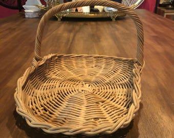 Cute Wicker Basket - gorgeous home decor!