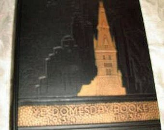 1935 Ye Domesday Book GEORGETOWN UNIVERSITY