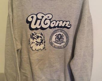 Vintage UCONN Sweatshirt