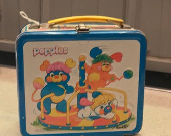 Vintage Popples Lunch Box