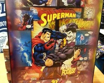 Superman custom (Extreme Frame) 12x16