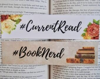 Booknerd Bookmarks (Set of 2)