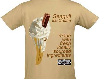 Seagull Ice Cream T shirt