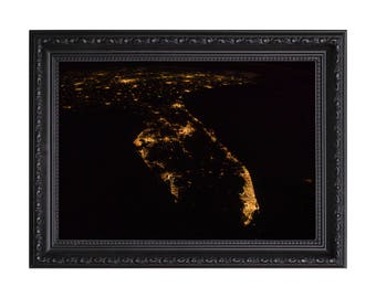 Nasa 'Florida from Space' Poster or Art Print
