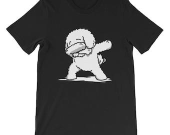 Cute Dabbing Bichon Frise T-Shirt Funny Dog Gift