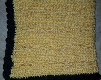Yellow Dragonfly Throw
