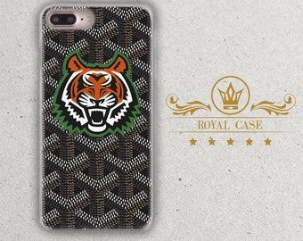 Tiger, iPhone 7 case, Goyard, iPhone 7 Plus case, iPhone 8 Case, iPhone 6S Case, iPhone 6S Plus Case, iPhone 8 Case, iPhone 8 Plus Case, 172