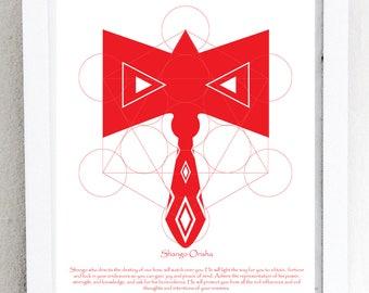 Shango's Axe (Red)