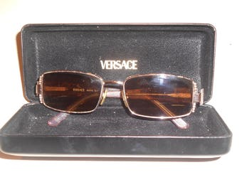 Vintage VERSACE sunglasses with its original case