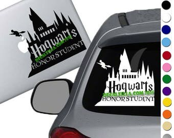 Hogwarts Honor Student Decal Sticker