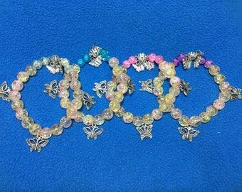 Butterfly bracelets