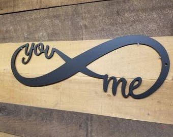 Infinity, You & Me sign