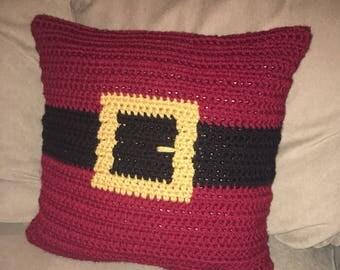 Christmas Pillow - Santa's Belt