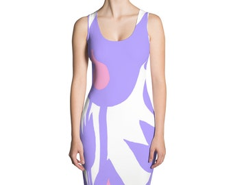 Lilac Sublimation Cut & Sew Dress