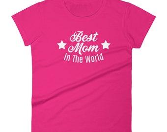 Best mom Tshirt Women's short sleeve t-shirt