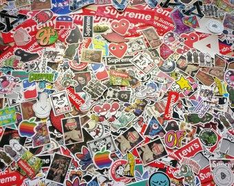 Supreme/Palace/Skateboard/Pop Culture Stickers