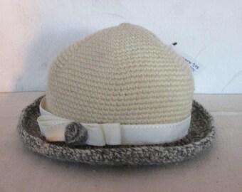 Cloche Wool Hat