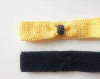 Newborn to 3 months headband