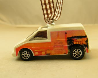 Aerostar - FREE SHIPPING - Valentines Ornament - Ford - Nations Capital on sides - perfect for Man cave or She Shack - Dad - Birthday