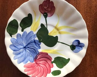 Blue Ridge Southern Potteries Chrysanthemum Saucer