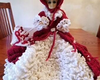 Vintage Handmade Scarlet Beauty