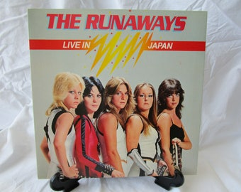 The Runaways / Live in Japan / Gatefold Vinyl LP / Mercury / SRM 1-3740