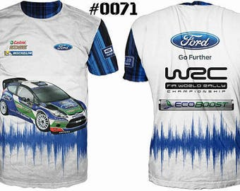 New ultramodern 3D High Quality Ford Men's T-shirt