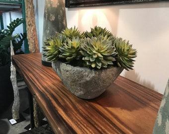 Echeveria Riverstone Bowl