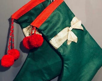 Traditional Christmas Stocking for kids aged 0-150