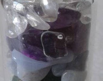 Fairy Stone Crystal Bottles
