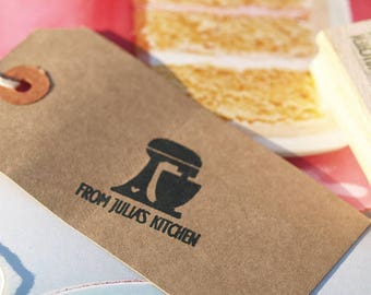 Baking Rubber Stamp Cake Mix design