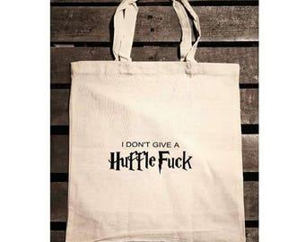 HuffleFuck tote bag