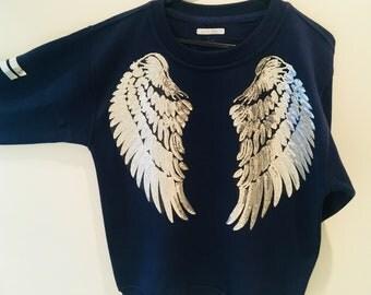 Luxurious statement sweatshirt