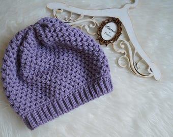 Crochet Slouchy Women Hat/Beanie