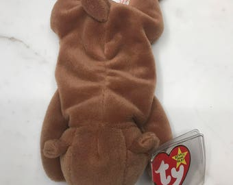 Very Rare Retired ty CUBBIE Beanie Babies (MINT Condition...MAJOR Errors(S))