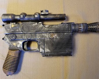 Star Wars Han Solo Blaster Nerf Gun Modification