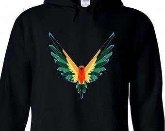 YOUTH Maverick Colorful Bird Hoodie