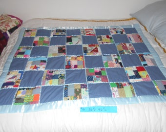 blue patchwork #16