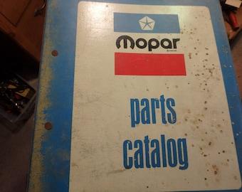 original Mopar parts catalog in Mopar binder- 1982-1983 light duty truck- chrysler