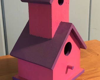Two tone Birdhouse